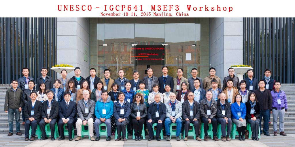 IGCP641_Nanjing Workshop_Group Photo